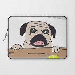The Pug: Oh My God!! Laptop Sleeve