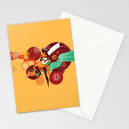 African Woman Stationery Cards