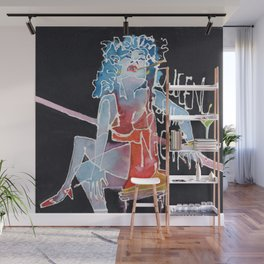 Queen of the Night Wall Mural