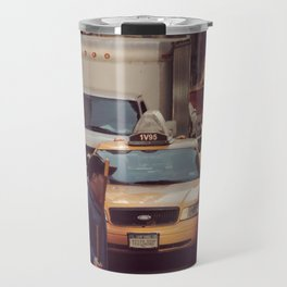 A LAMA IN NEW YORK ***  NEVER STOP EXPLORING VIII Travel Mug