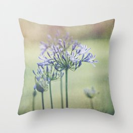 Summertime Beauty Throw Pillow