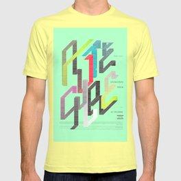 Autechre Oversteps Tour Poster T-shirt