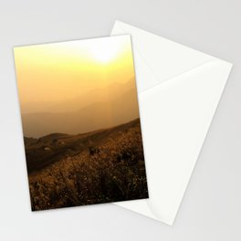 Sunset over the Ocean in Hong Kong | Travel Photography Stationery Cards