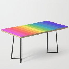 Solid Rainbow Coffee Table