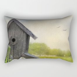 Little Bits Of Good - Vintage Art Rectangular Pillow