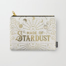 Made of Stardust – Gold Palette Carry-All Pouch