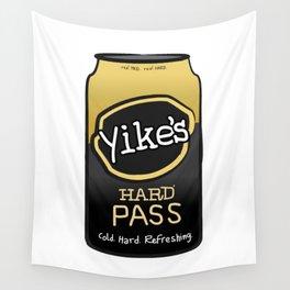 Yikes! Hard Pass Wall Tapestry