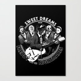 Sweet Dreams From Freddy & The Nightmares Canvas Print