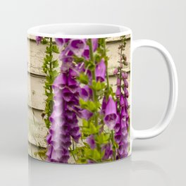 The Old House Is Abandoned... Yet Wildflowers FLOURISH Coffee Mug