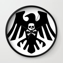 Pirate Crow Wall Clock