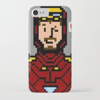 tony stark iPhone & iPod Cases featuring tony stark by saltyking