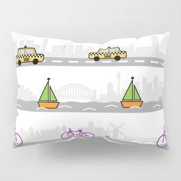 City travel Pillow Sham