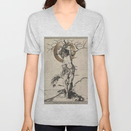 beati martyris - the suffering martyr Unisex V-Neck