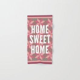 Home Sweet Home Hand & Bath Towel