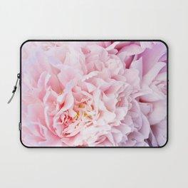Peony Flower Photography, Pink Peony Floral Art Print Nursery Decor A happy life - Peonies 3 Laptop Sleeve