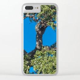 Magnificent Oak Clear iPhone Case