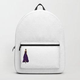 Purple dress Backpack