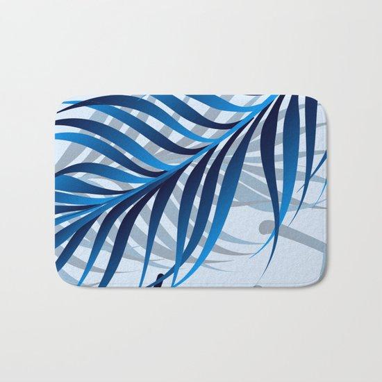 Blue Tropic Bath Mat