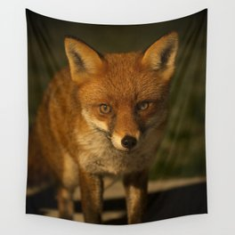 The Wild Red Fox Wall Tapestry