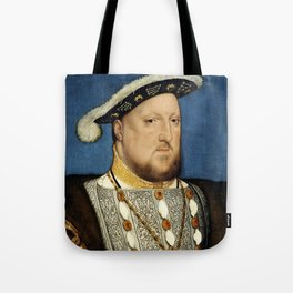 """Hans Holbein the Younger """"Portrait of Henry VIII of England"""" Tote Bag"""