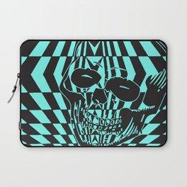 Shredding Skull Laptop Sleeve