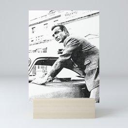 Sir Sean Connery - Scottish Actor - Bodybuilding - ICON 1Z Mini Art Print