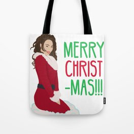 MC All I Want For Christmas Is You Tote Bag