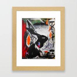 No need for tasting - Vegan Series - Original painting - Marina Taliera Framed Art Print