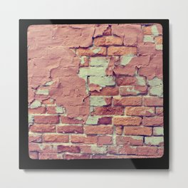 Old Bricks ttv photo Metal Print
