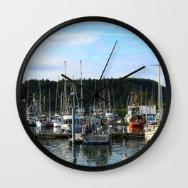 La Push Marina Wall Clock