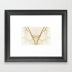 branches#01 Framed Art Print
