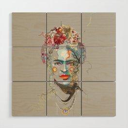Frida Kahlo (3) Wood Wall Art
