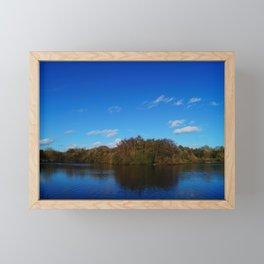 Mirrored Blue Framed Mini Art Print