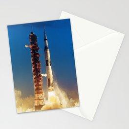 "Apollo Saturn V ""LIFTOFF"" 1967 Stationery Cards"