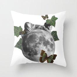 new born nature Throw Pillow