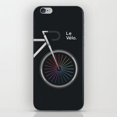 Le Velo Noir iPhone & iPod Skin