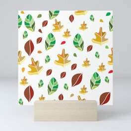 Fallen Leaves Mini Art Print
