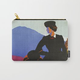 Abruzzo Italian travel Lady on a walk Carry-All Pouch