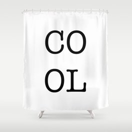 COOL Character Square Shower Curtain
