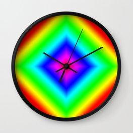 Diamond Prism Pulse Wall Clock