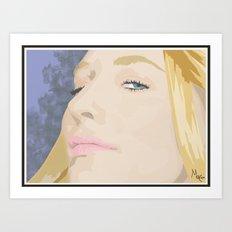 Cate Blanchett Art Print