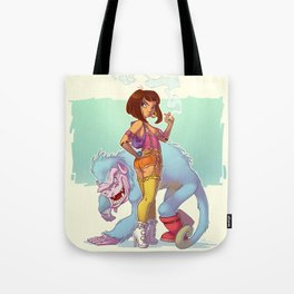 Adult Dora the Explorer Tote Bag