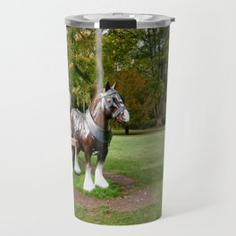 The Waddesdon Horse Travel Mug