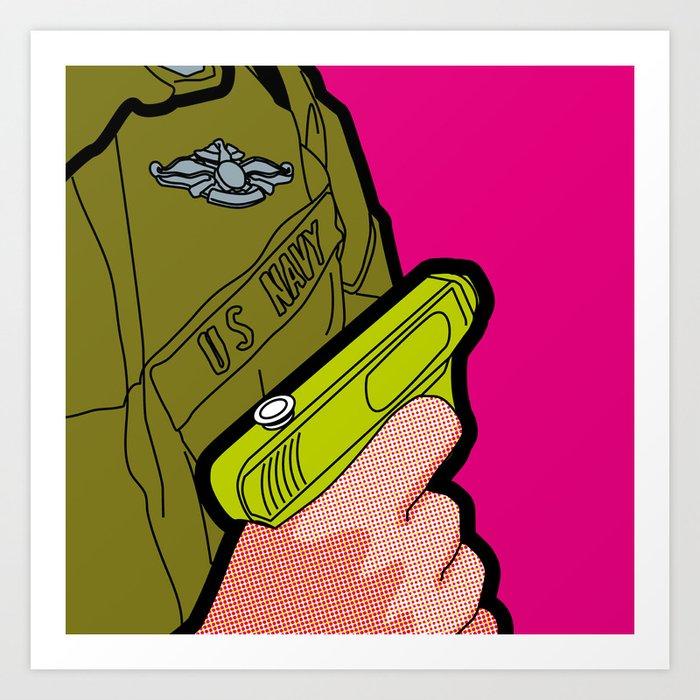 Pop Icon - War Machine Art Print