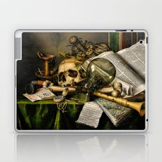 Vintage Vanitas- Still Life with Skull Laptop & iPad Skin