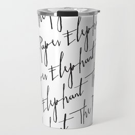 The Paper Elephant - Cients Travel Mug