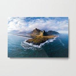 Icelandic Panorama Metal Print