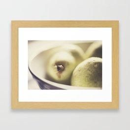 Pears 1 Framed Art Print