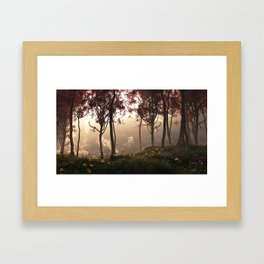 Skygate (Autumn) Framed Art Print