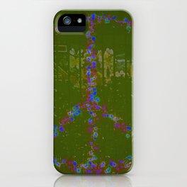Peace B Wit U iPhone Case